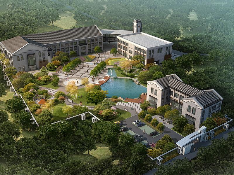 四川南充工人文化宫景观规划