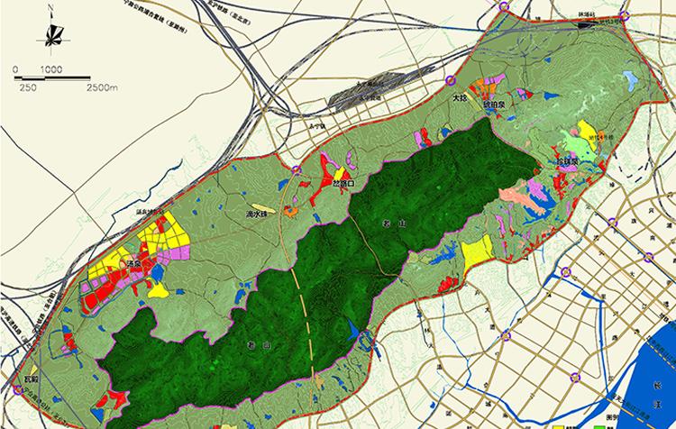 南京老山现代文化旅行度假区总体规划(2011-2030)