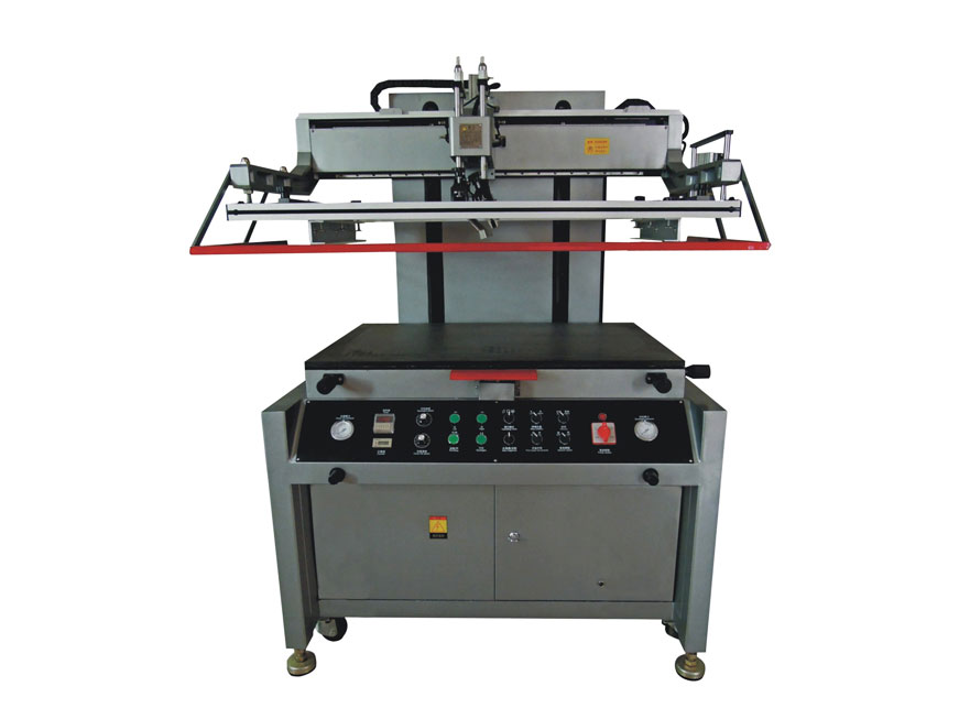 高精密電動平面絲印機