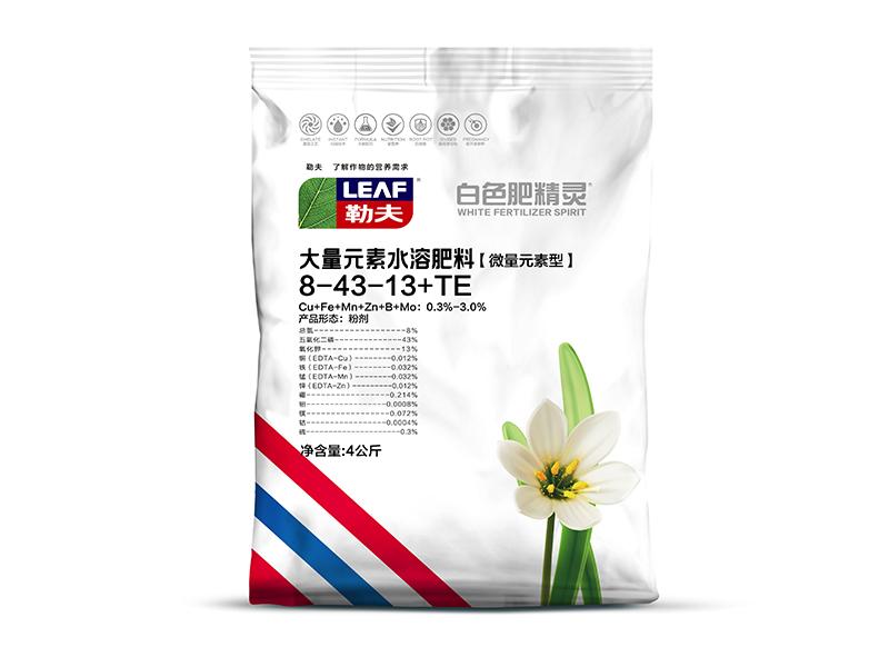 白色高磷肥精靈大量元素水溶肥【微量元素型】