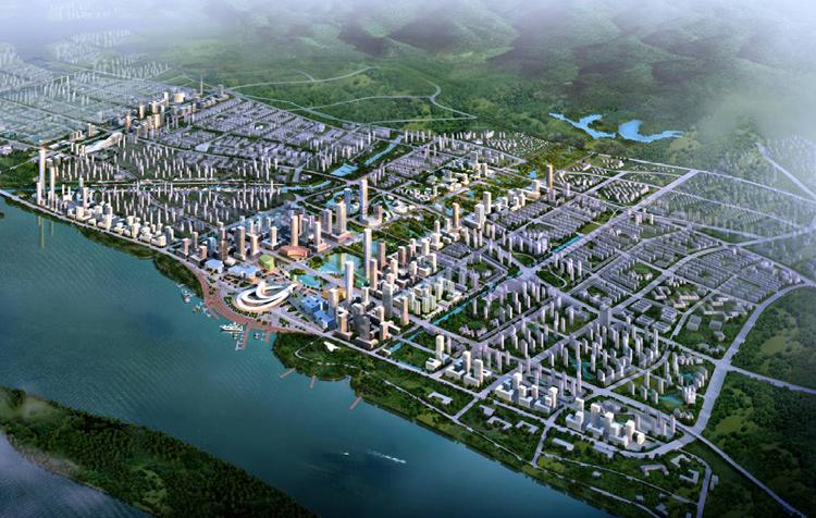 南京市浦口新城核心开发区掌握性详尽规划