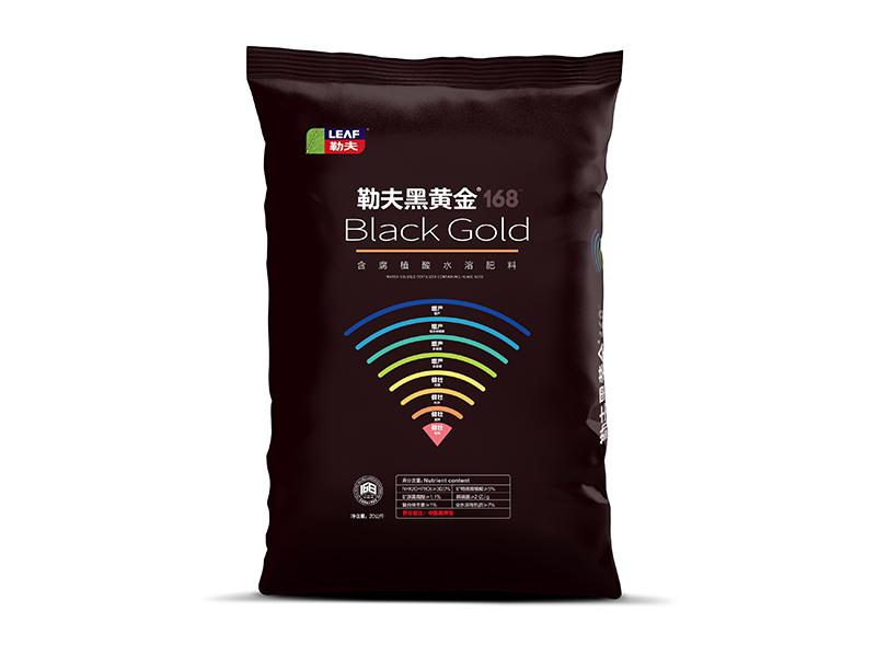 黑黃金168【中氮高鉀型水溶肥】