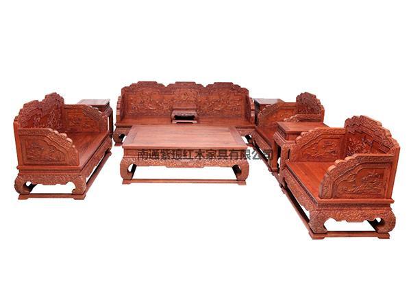 荷花寶座沙發