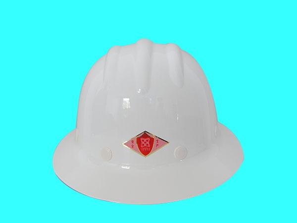 TF 煉鋼帽(玻璃鋼)白