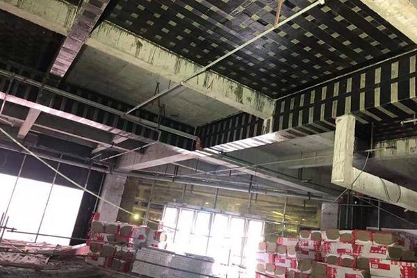 蘇州長風航空電子有限公司 火災加固工程