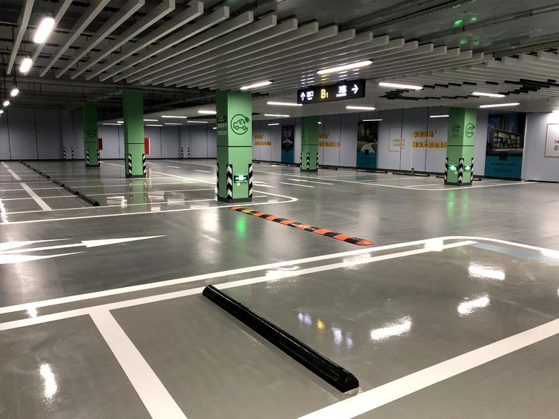 地坪及標線完工效果圖
