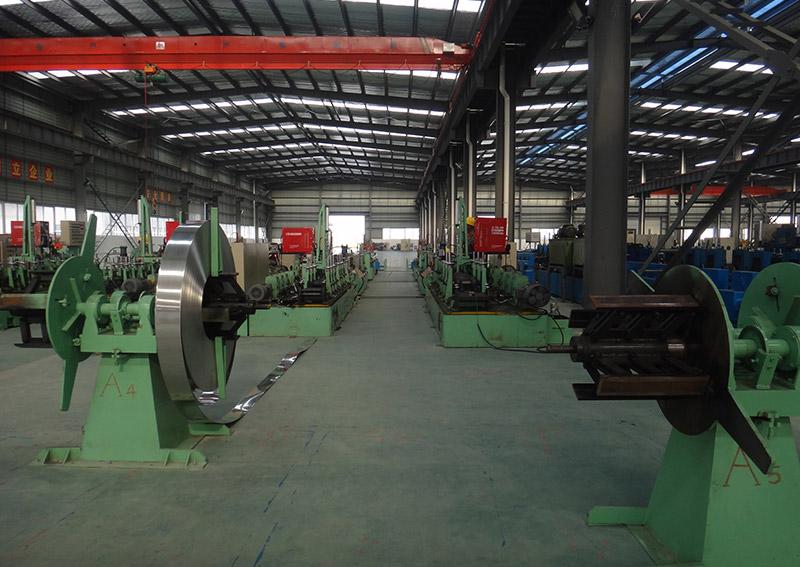 不銹鋼制管機設備5